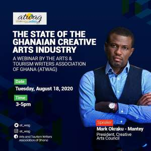 ATWAG To Host Okraku-Mantey On Creative Arts Forum