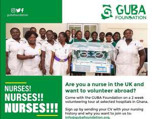 UK Nurses to volunteer at selected hospitals in Ghana