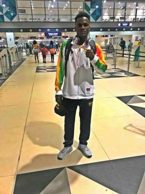 Abdul Wahid Omar Promises To Shine At African Games