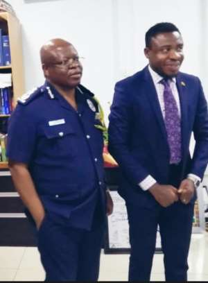 (IGP) James Oppong-Boanuh and Dr Da Costa Aboagye