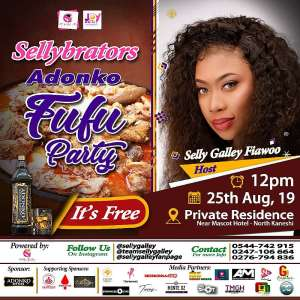 Selly Galley to host Adonko Fufu party on 25th August