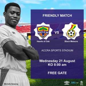 Ghana U-23 Line Up Friendly With Accra Hearts of Oak on Wednesday