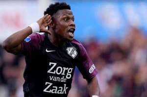 Ghanaian Youngster Abass Issah Scores An Audacious Goal For FC Utrecht [VIDEO]