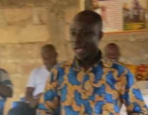 DCE Inspects Progress Of A Chps Compound For Kyekyewere Community