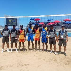 Ghana Loses To Rwanda In Beach Volleyball Quarter Final