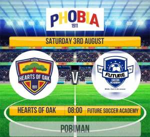 Hearts Of Oak Line Up Friendly With Future Soccer Academy Tomorrow