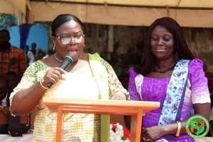 Hon. Janet Tulasi Mensah - Municipal Chief Executive (MCE) for the Ga East Municipal Assembly (GEMA)