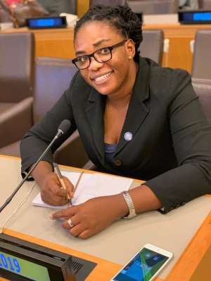 UN Youth Ghana Country Head Represents Ghana At Washington DC
