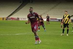 Caleb Ekuban Bags Hat-Trick As Trabzonspor Beat AEK Athens 3-1 In Europa League Playoff