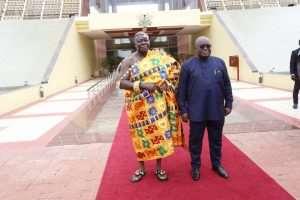 Otumfuo Meets Nana