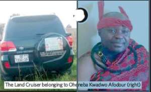 Asamponhene Suspect Killers Had Matches, Petrol