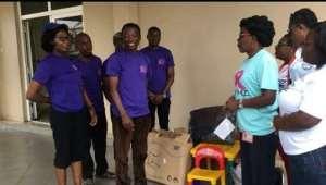 Life Beyond Cancer Foundation (lbcf) Donates To Korle-Bu Hospital