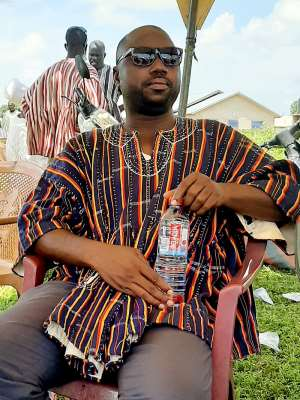 Mr. Benjamin Anafo CPP parliamentary candidate