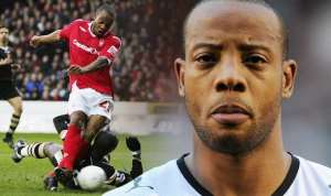 VIDEO: Emotional Scenes As Nottingham Forest Fans Pay 23rd Minute Tribute To Junior Agogo