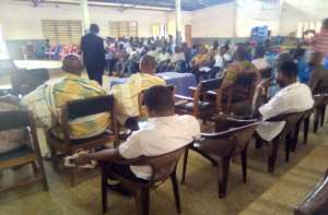 Dormaa East District Assembly Reviews Performance For The First Half Of 2019