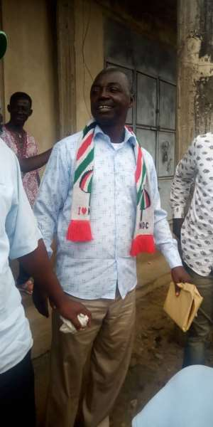 E/R : Public Servants Are To Serve, Not Be Served - NDC Parliamentary Candidate