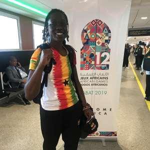 Ornella Sathoud Loses To Tunisian At AG 2019
