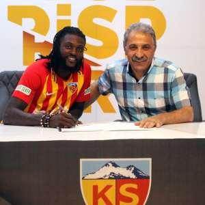 Emmanuel Adebayor Joins Turkish Side Kayserispor On A One Year Deal