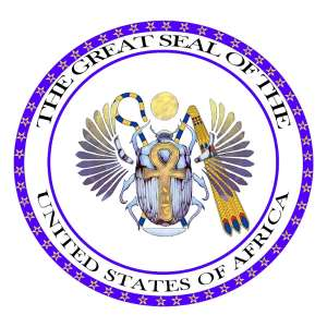 Re: The Great Seal Of The United States Of Africa: Africa Must Unite