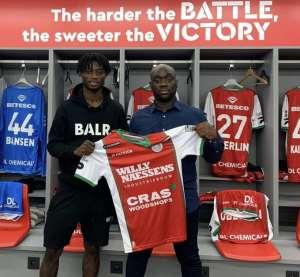 Zulte Waregem Sign Gideon Mensah On Loan From Red Bull Salzburg