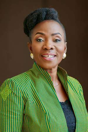 Chief Executive Officer of Stratcomm Africa, Esther Amba Numaba Cobbah