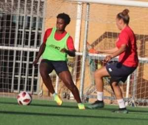 Princella Adubea Elated After Partaking In First Training At Club De Huelva