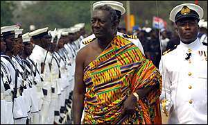 Kufuor accounts for his stewardship today