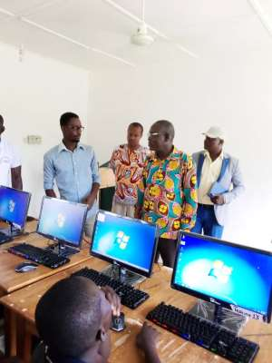 Lawra MCE Inaugurates Computer Library And Holiday Classes