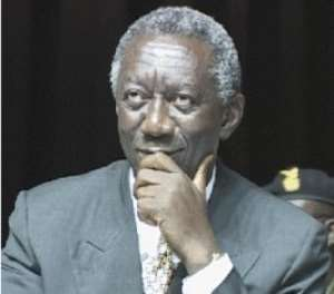 Kufuor calls for support in enhancing investment climate
