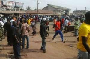 Machete-Wielding Thugs Vandalise EC Properties, Attack Registrants At Ajumako/Enyan/Essiam