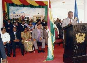 President Kufuor's 'Meet The Press' in August