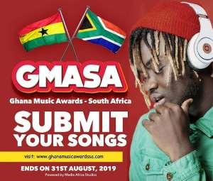 Ghana Music Awards SA Nominations End on Aug 31