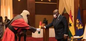 Akufo-Addo Swears In Six Justices Of Court Of Appeal