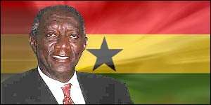 President Kufuor votes