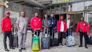 Kotoko Arrive In Nigeria Ahead Of Clash With Kano Pillars In CAF CL