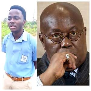 Politicians must learn a lesson from schoolboy's condemnable use of unprintable words on President Akuffo Addo