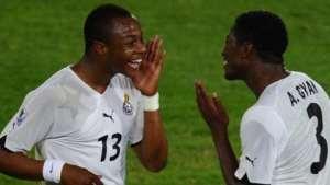 Asamoah Gyan Lauds Andre Ayew's Leadership Qualities