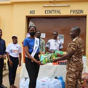 Volta Region:Miss UHAS Donates To Prisons, Orphanage, And Leprosarium