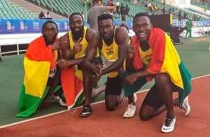 Ghana Men's 4x100m Relay Team For World Championships Doha 2019