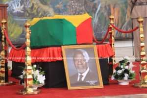 Dignitaries To Pay Last Respects To Kofi Annan Today