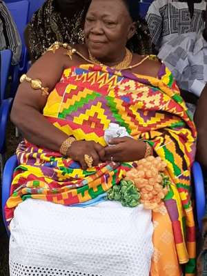 Queen Mother of Kwahu Pepease - Nana Oforiwah Pokuwah II