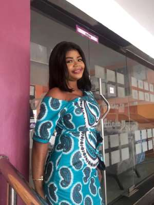 Atinka TV's Nana Adwoa Konkonsa Shares 'Sexy' Photos On Birthday Today
