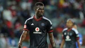 Edwin Gyimah's Orlando Pirates  future in doubt after bust-up with coach Ertugal