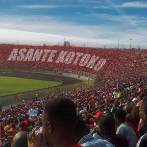 CAF CL: Kotoko Supporters All Over Baba Yara Stadium In A 2:0 Win Over Etoile du Sahel [PHOTOS]