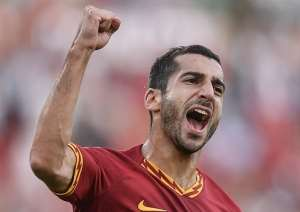Mkhitaryan Scores On Roma Debut In Sassuolo Win