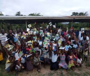 Network For Assin Development, Attractive Foundation Donate To Deprived Schools