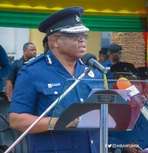 The Acting IGP, James Oppong Boanuh