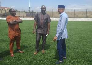 Madina Zongo Pitch Meets FIFA Standards - Zongo Minister