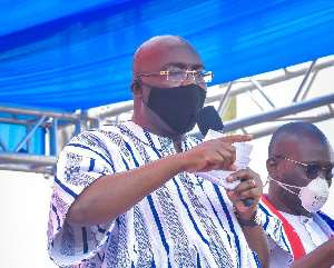 'You Don't Want To Graduate And Get A Life In Okada Riding, We'll Give You Better, Safer Option' – Bawumia
