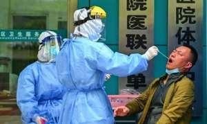 Testing of coronavirus in China